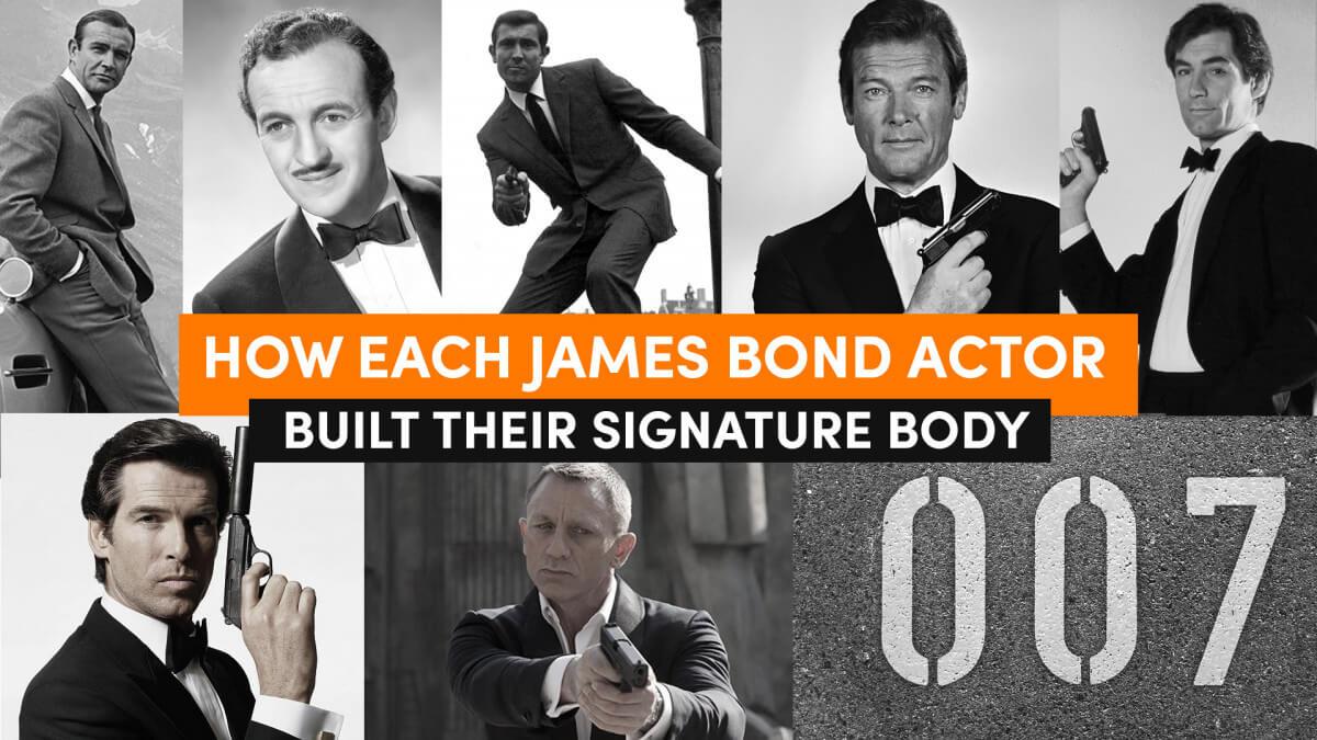 How Each James Bond 007 Actor Built Their Signature Body