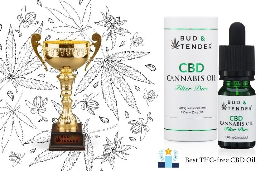 Bud and Tender® Best CBD Oil THC-Free on Herbreviews.co.uk