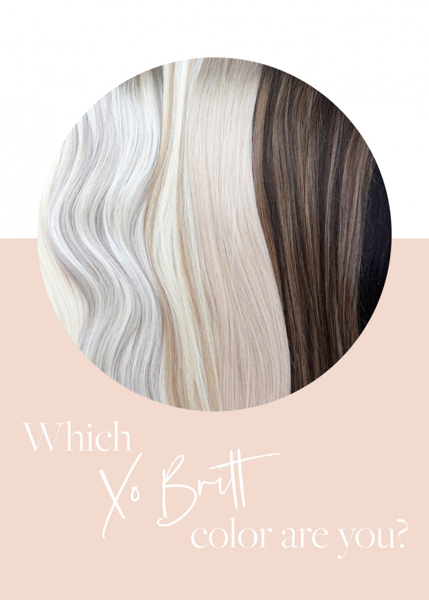 Color Me Pretty: Finding Your Clip-In Extensions Color Match