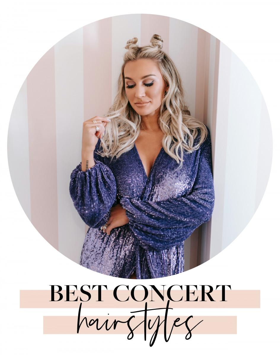 Best Concert Hairstyles
