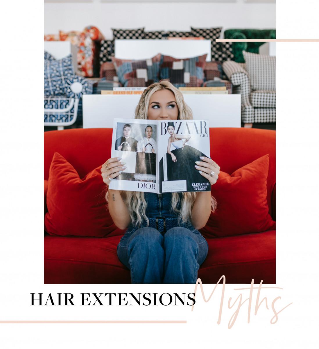 Debunking Hair Extensions Myths