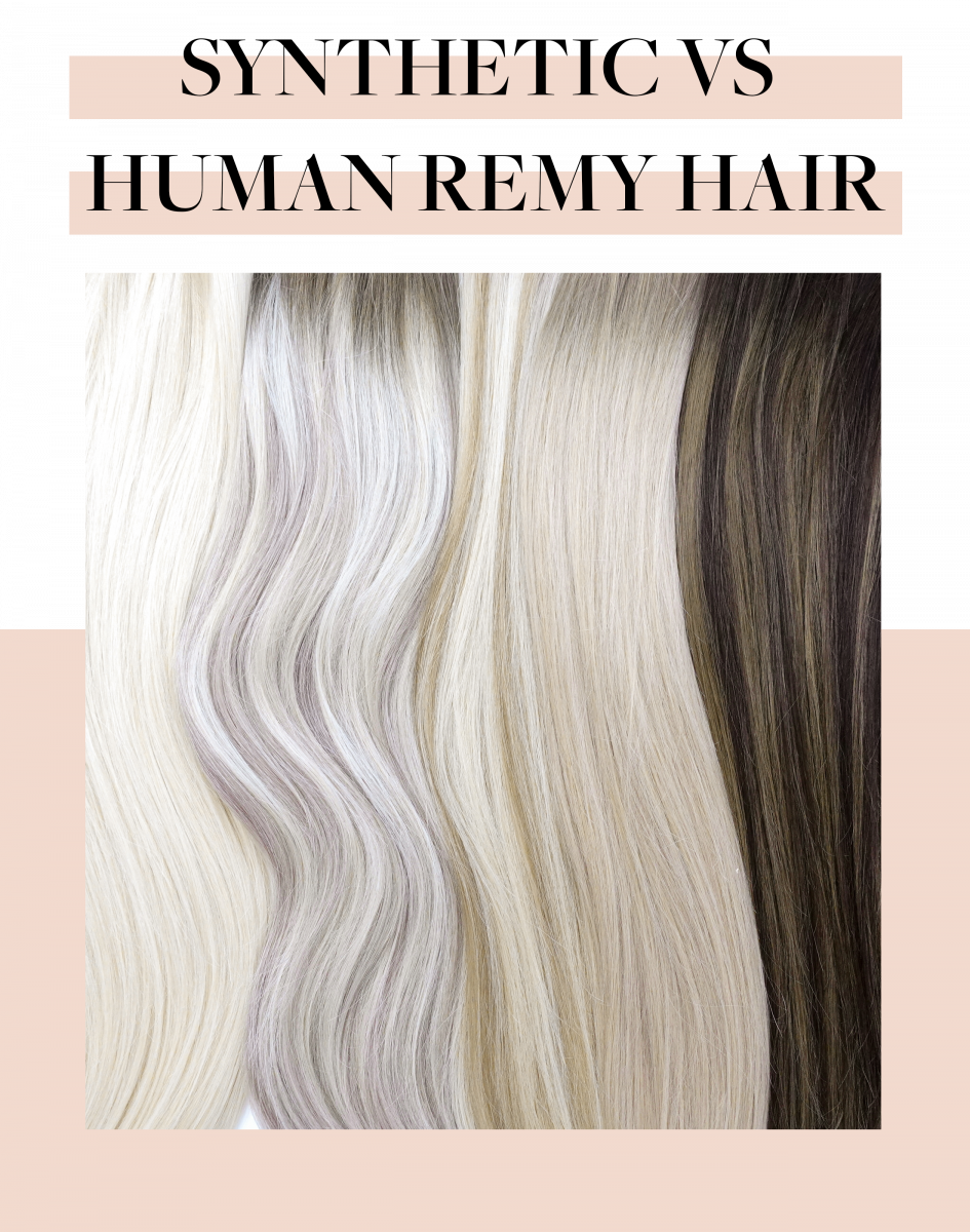 Remy Human Hair vs. Synthetic Extensions