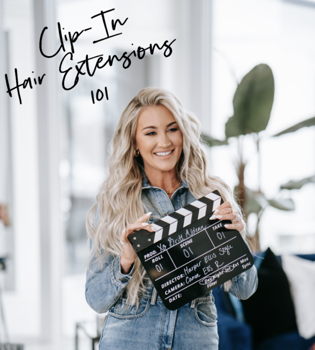 Clip-in Hair Extensions 101: Breaking Down the Basics