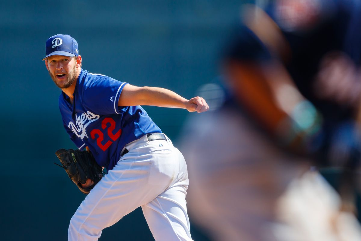 Dodgers Defeat Royals 7-5 in Kershaw's Spring Training Debut