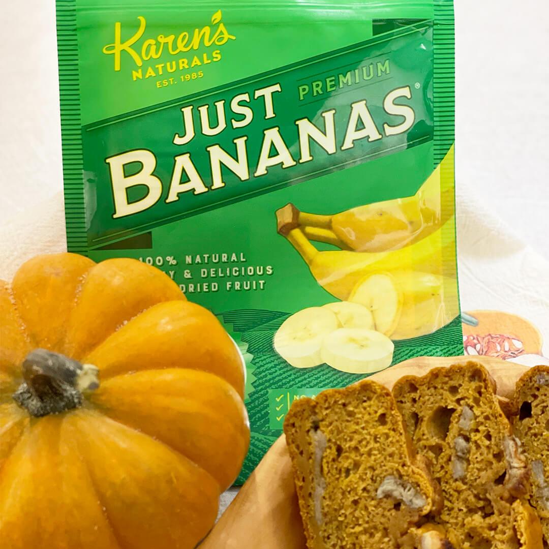 Falling for Pumpkin Banana Bread