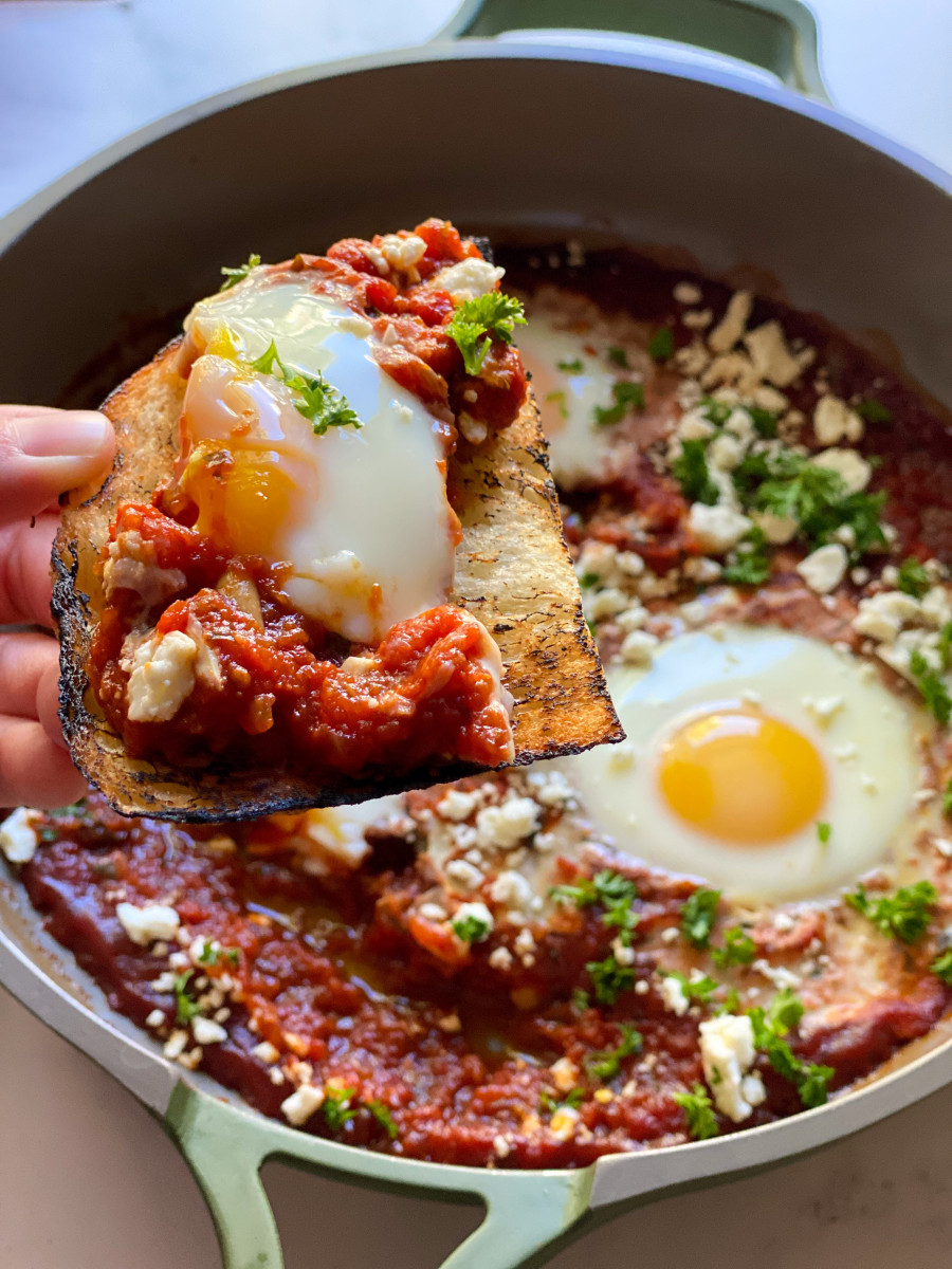 Shakshuka with Arrabbiata Sauce Recipe