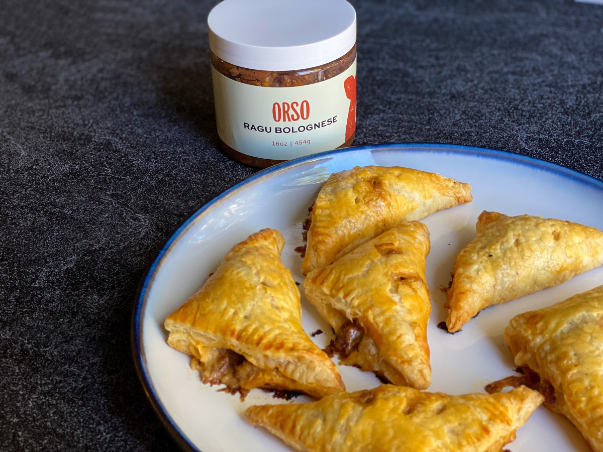 Savory Bolognese Hand Pies Recipe