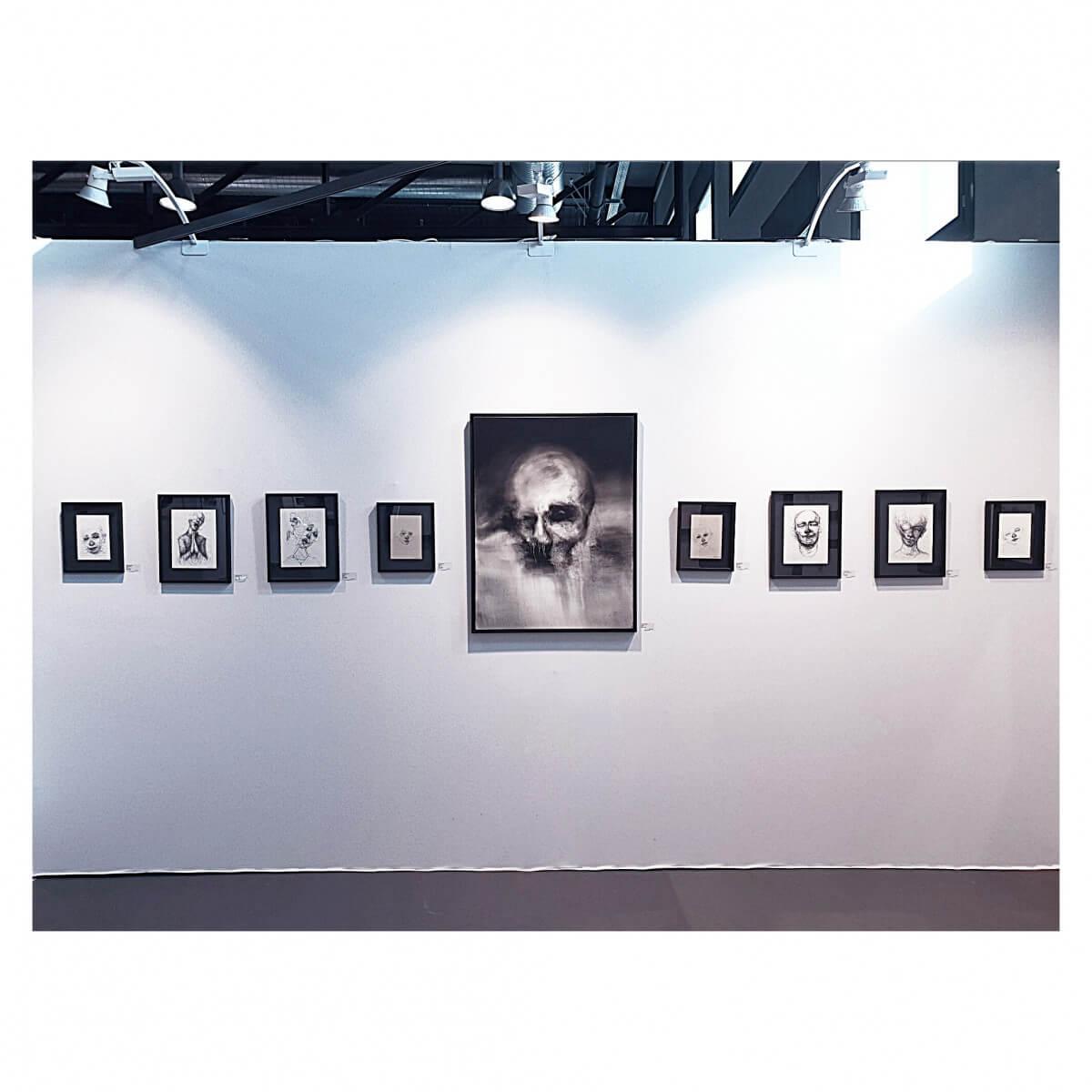 Nadia Arnold Ltd art fair booth designs
