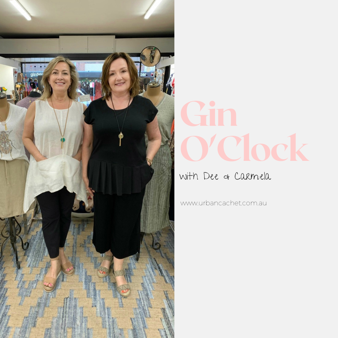 Gin O'Clock| Episode #35 | ladies' fashion store| Urban Cachet