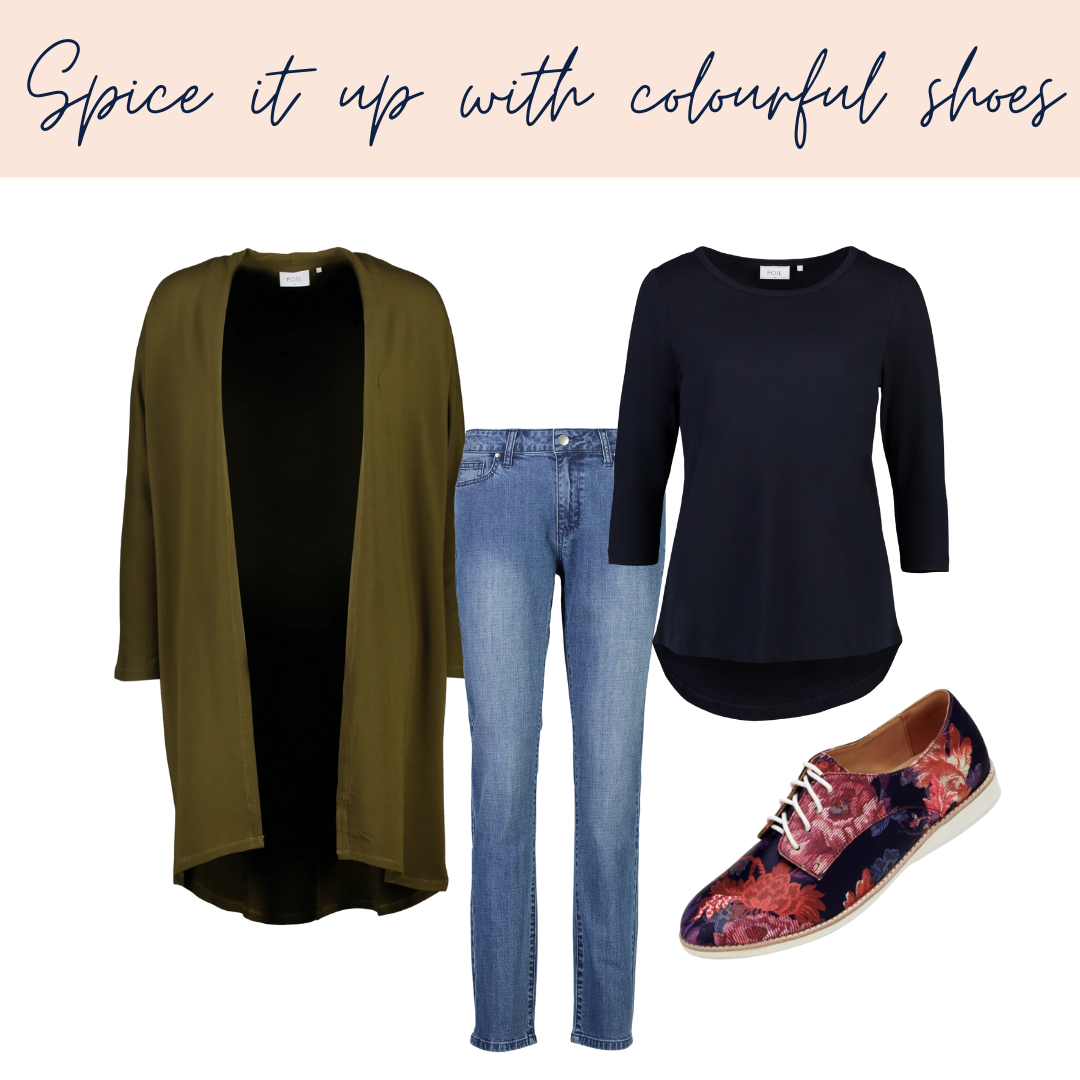 Spice it up with colourful shoes