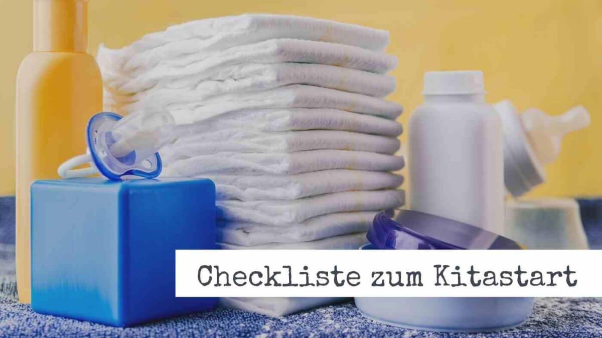 checkliste kitastart