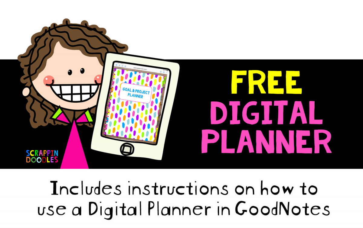 Free Digital Planner and how to use it in Goodnotes