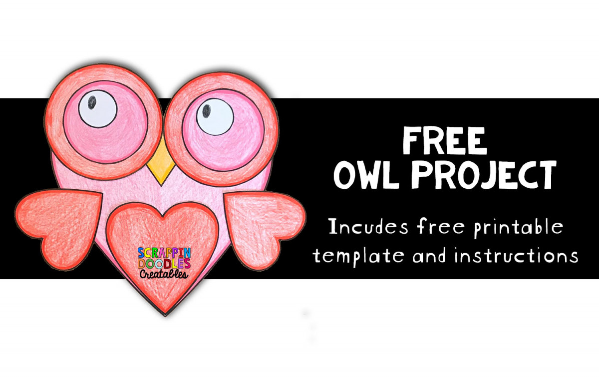 FREE Printable Owl Craft Project