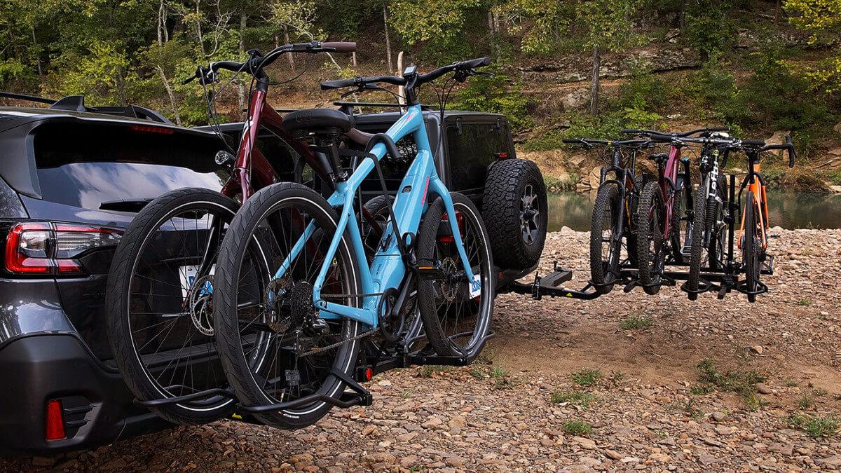 KAC Overdrive Sports Hitch Mount Bike Rack Collection