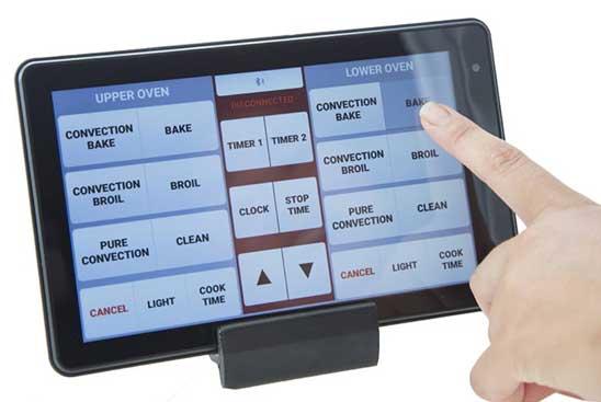 A high-tech oven keypad failure solution