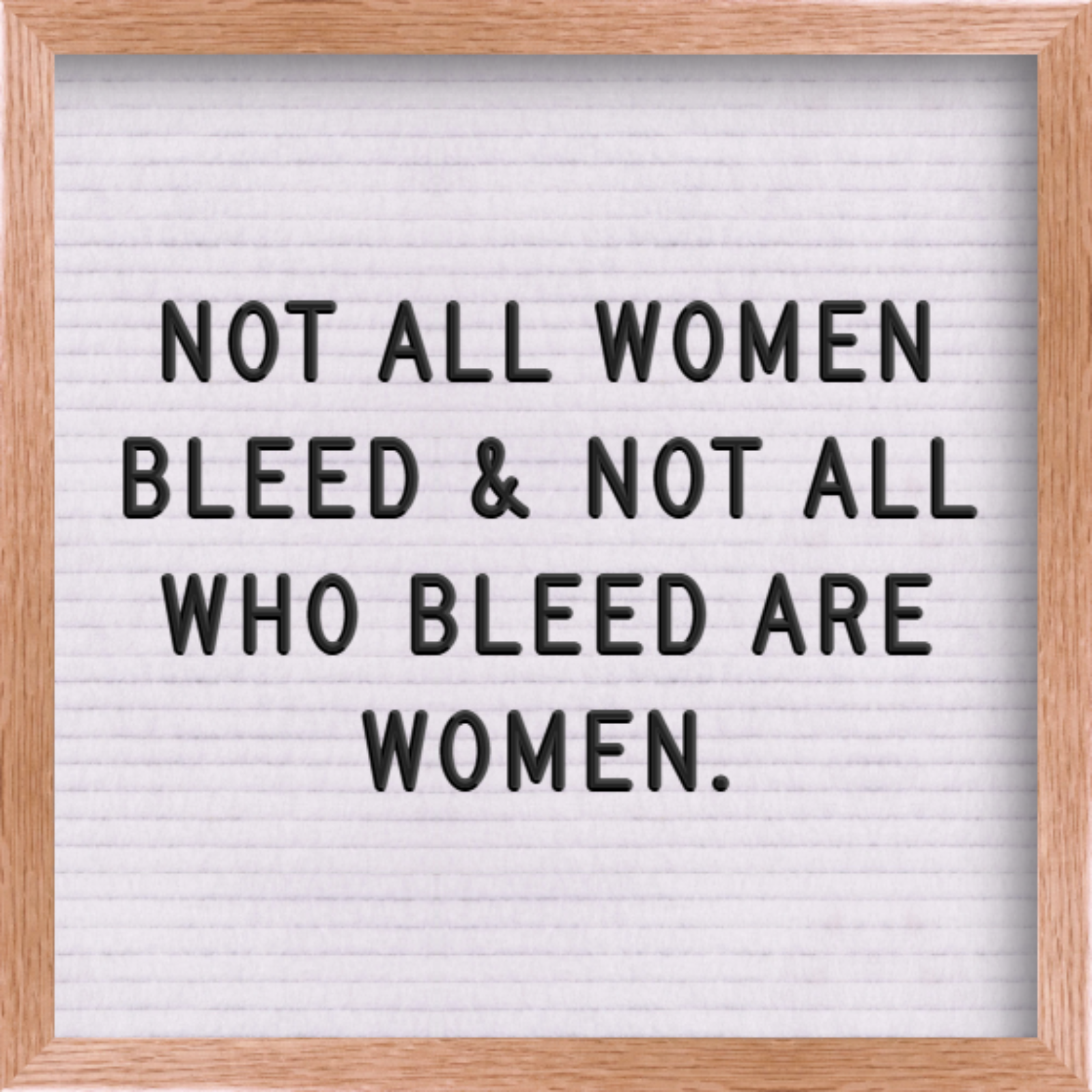 Menstruation: Why Gender Inclusive Language Matters