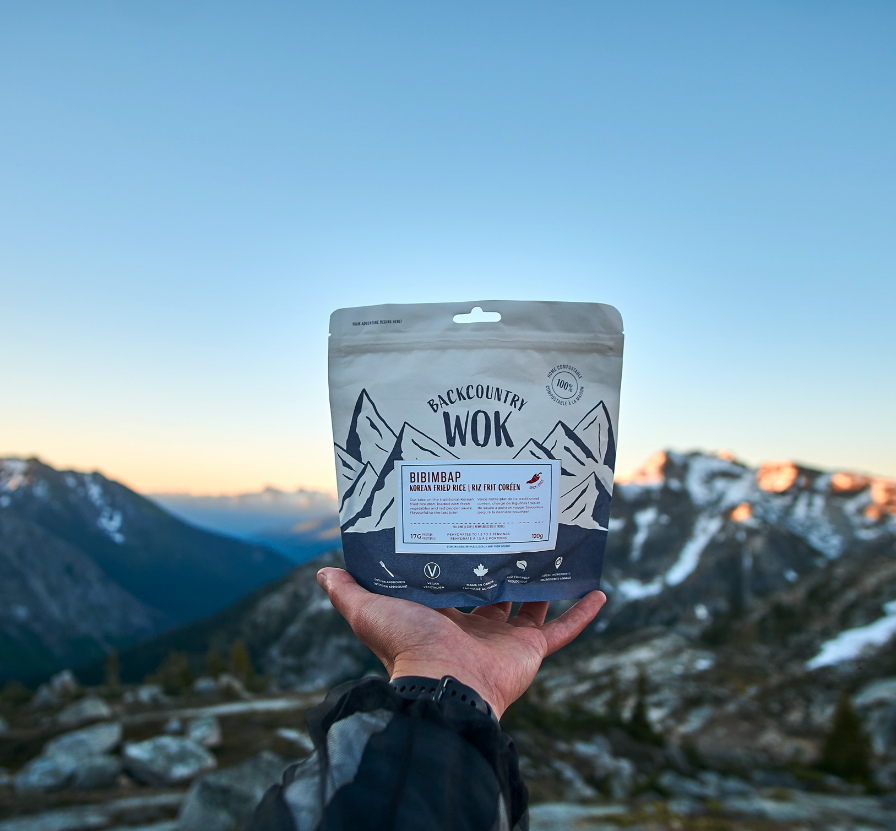 Backcountry Wok sustainable living