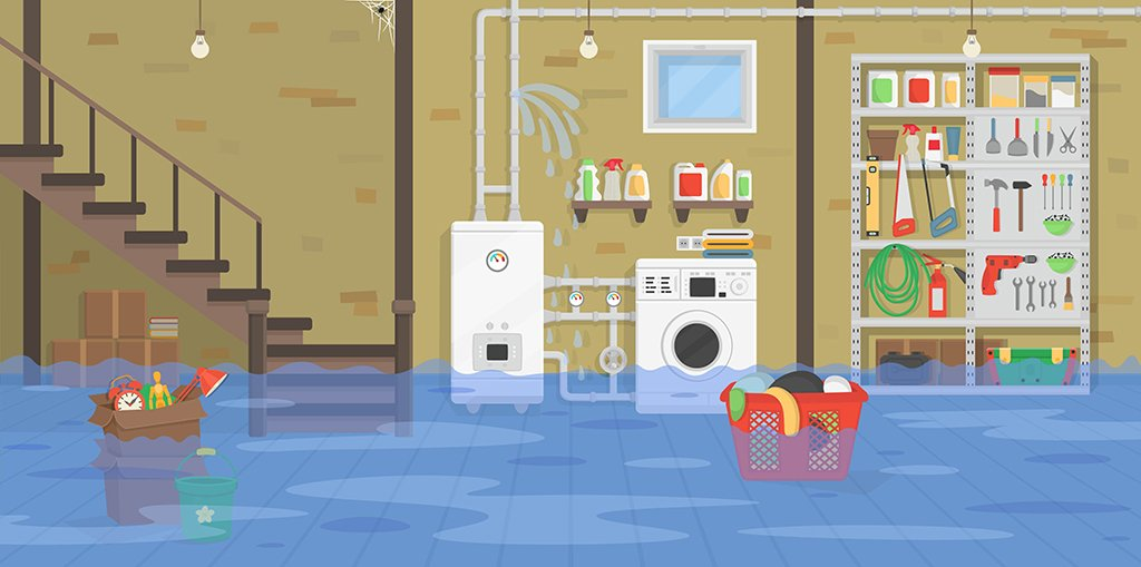 5 tips to prevent basement flooding