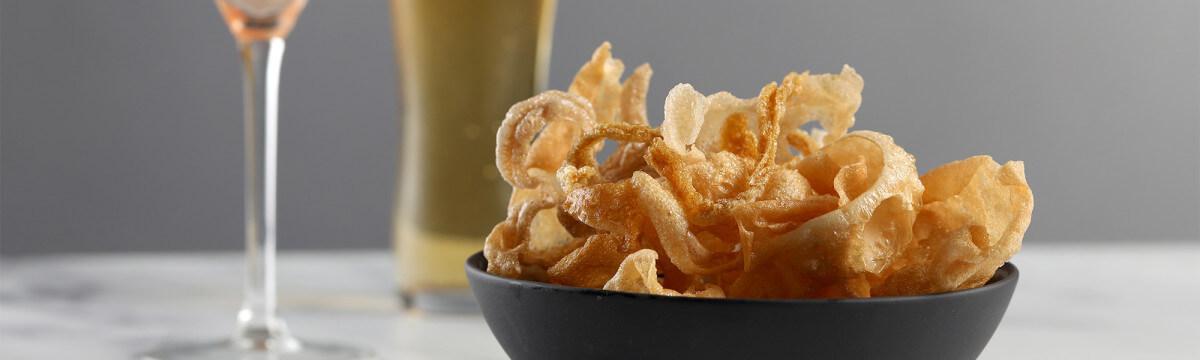 Mushroom crisps