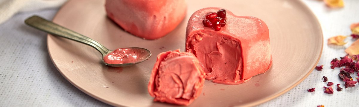 Pomegranate Valentine's Heart