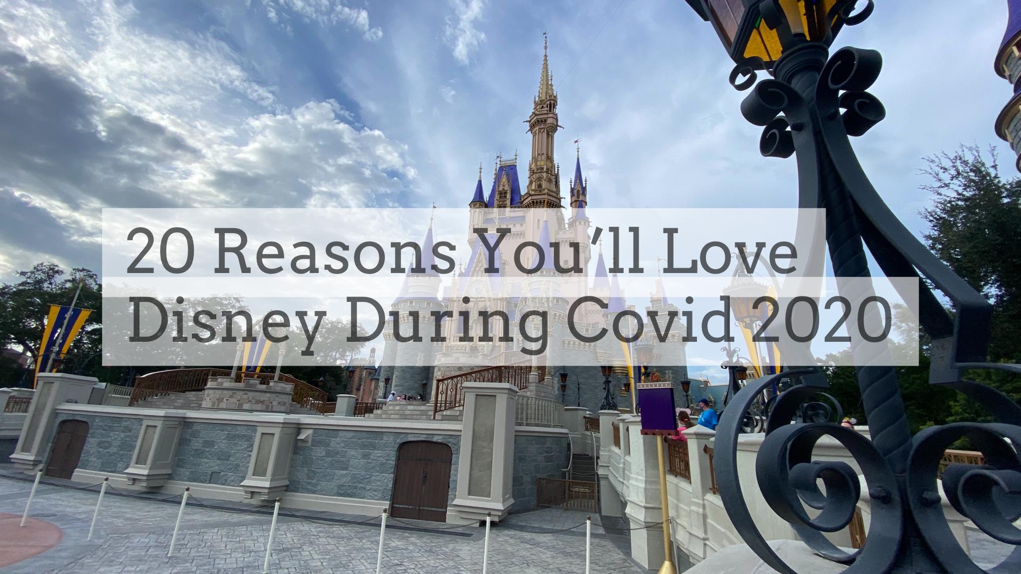 20 Reasons You'll Love Disney World During Covid