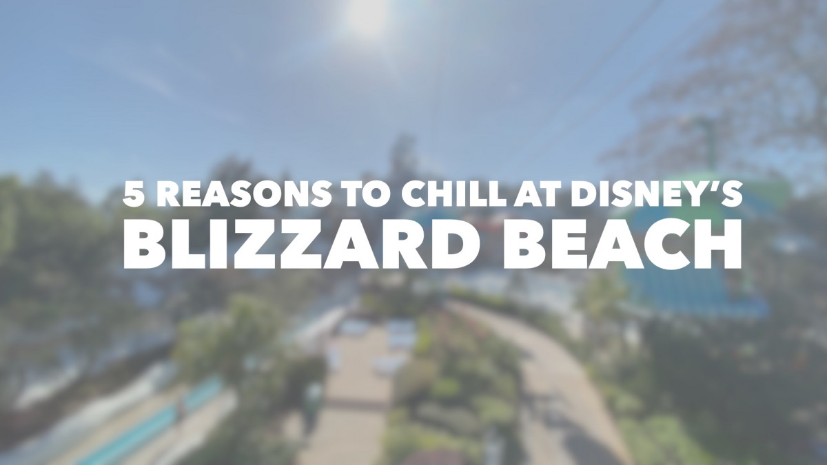 5 Reasons To Chill At Disney's Blizzard Beach