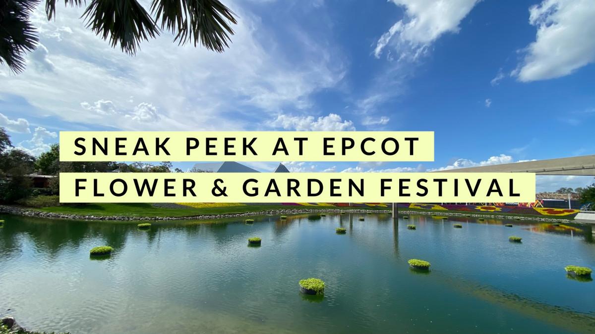 A Sneak Peek at Taste of Epcot's Flower & Garden Festival