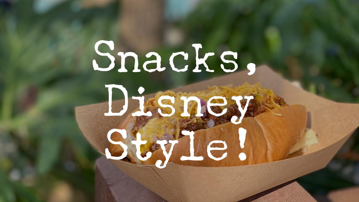 Snacks, Disney Style!