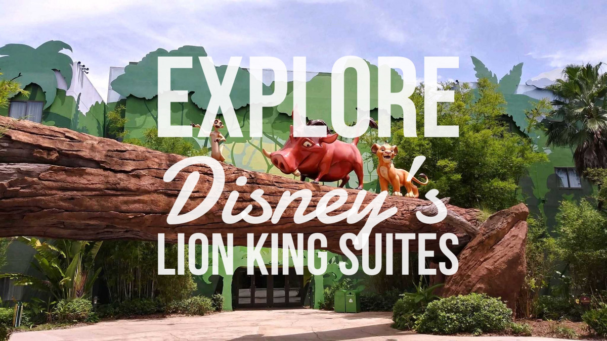 Explore Disney's Lion King Suites