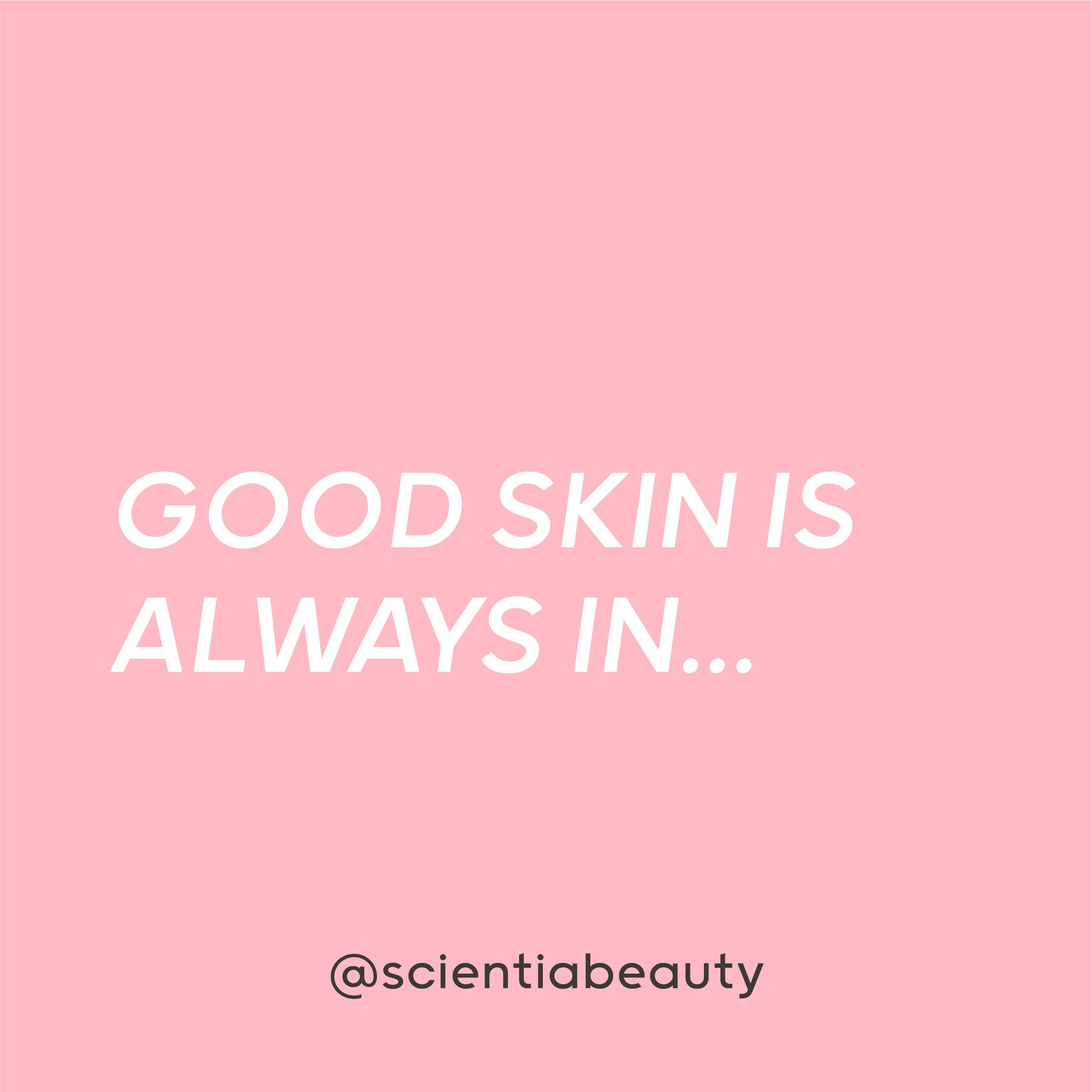 Is there a correct order to apply skincare products?