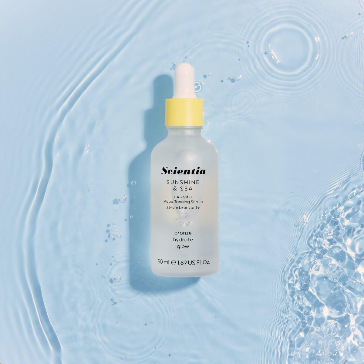 Get to know…. Sunshine & Sea HA + Vit D Aqua Tanning Serum