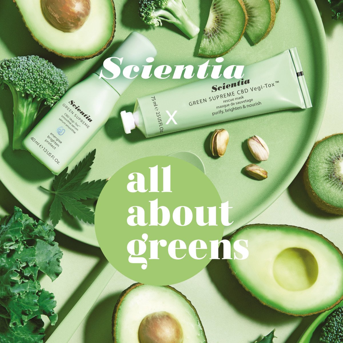Green Supreme Recipes! Scientia x All About Greens