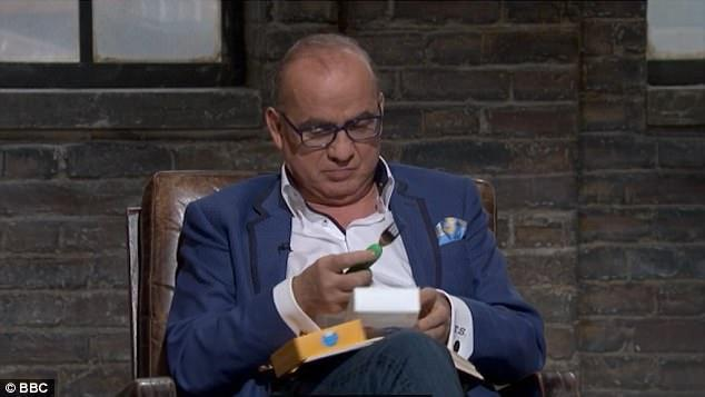 Nana's Manners on the hit tv series BBC's Dragons Den