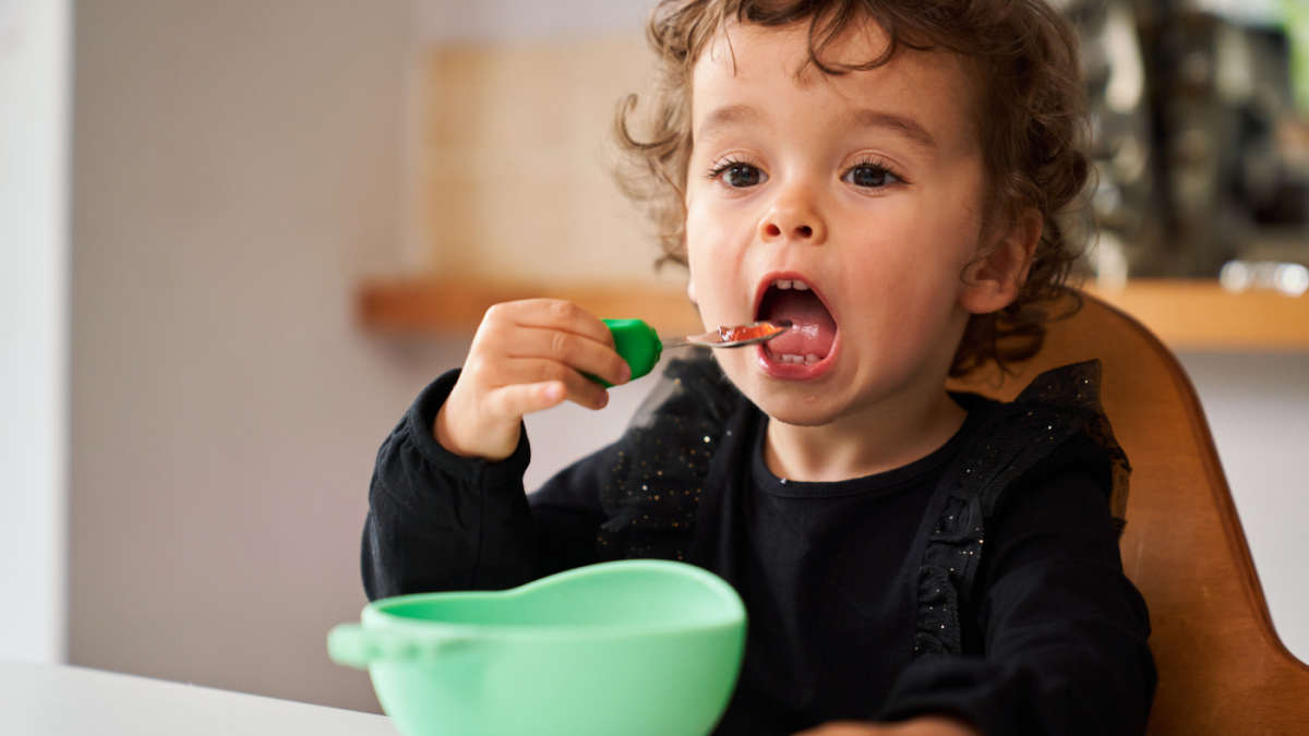 What age do I Introduce Cutlery to Children? - Toddlers aged 12 month plus