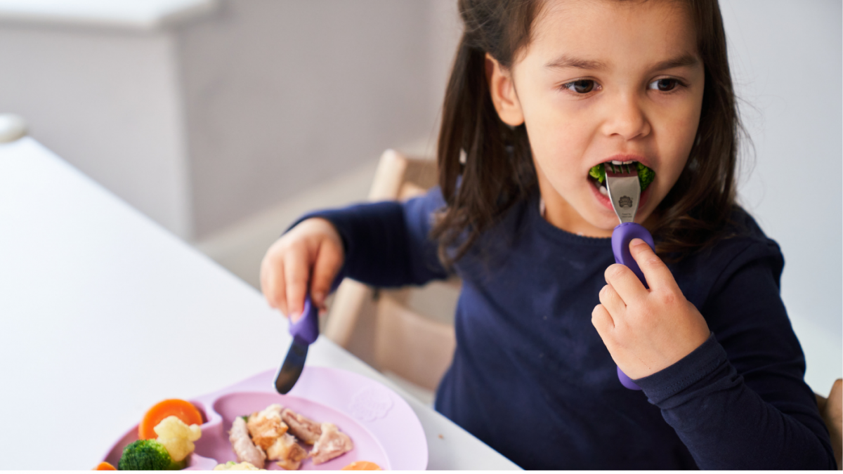 What age should I Introduce Children's Cutlery - Knife and Fork