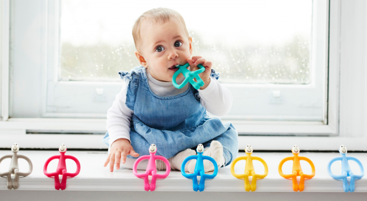 Teething and Weaning Tips from the team at Matchstick Monkey !