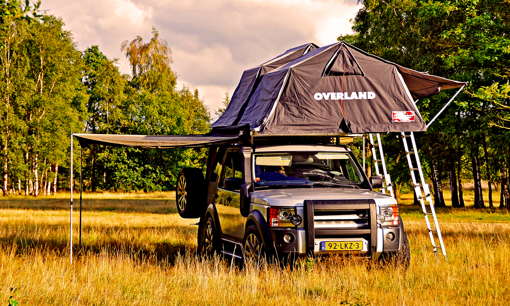 A Jeep Roof Top Tent Might be Better Than Hammocks. Here's Why…