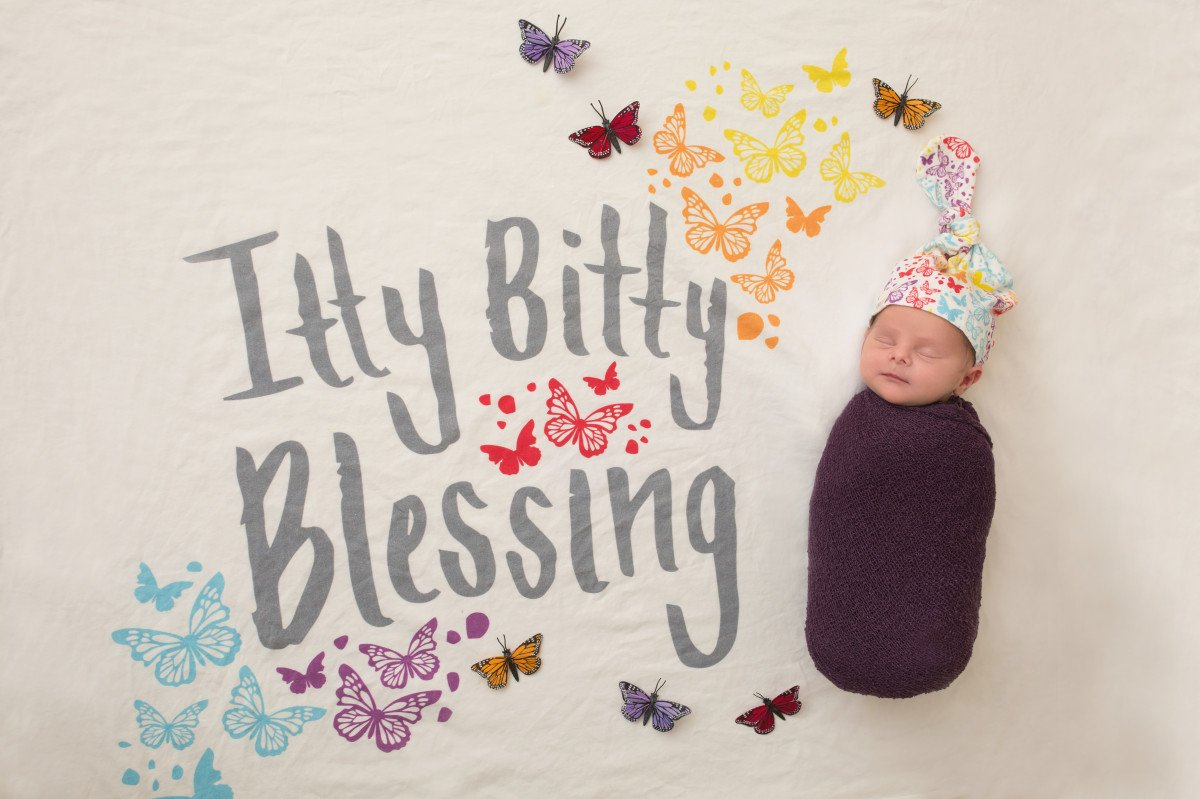 Rainbow baby's birth story - 9 months in 9 months out