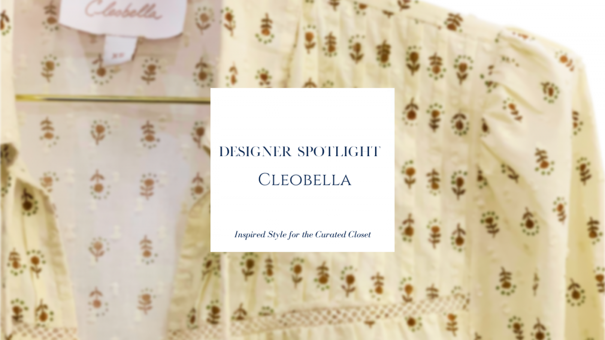 Blog Designer Spotlight Feature | Cleobella