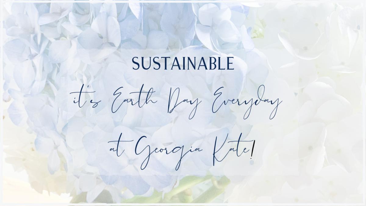 {Blog Post} Sustainable Georgia Kate