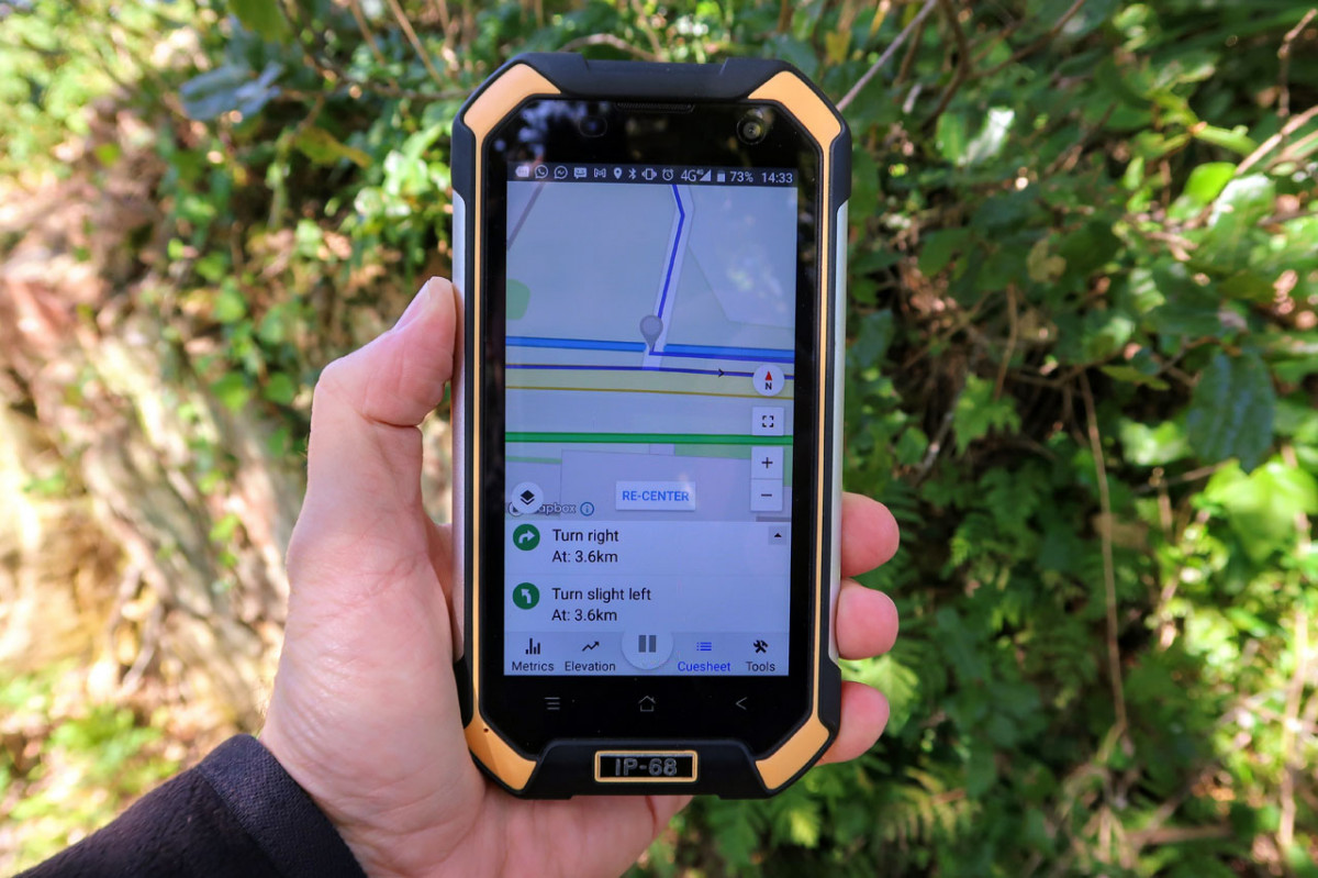 How to use a Smartphone for GPS Navigation - handheld rugged smartphone gps