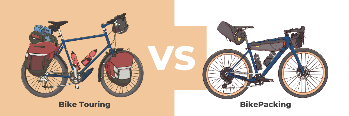 Bikepacking VS Bike Touring: What's the Difference?