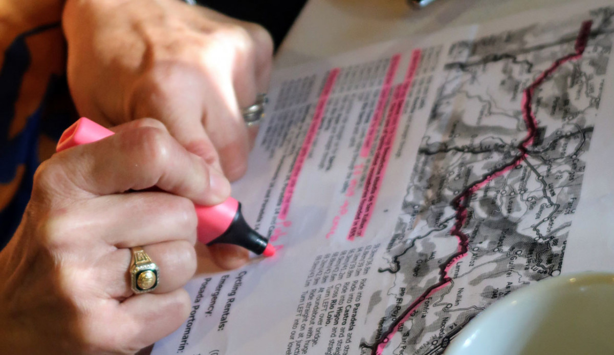 How to plan a Bicycle Tour Route