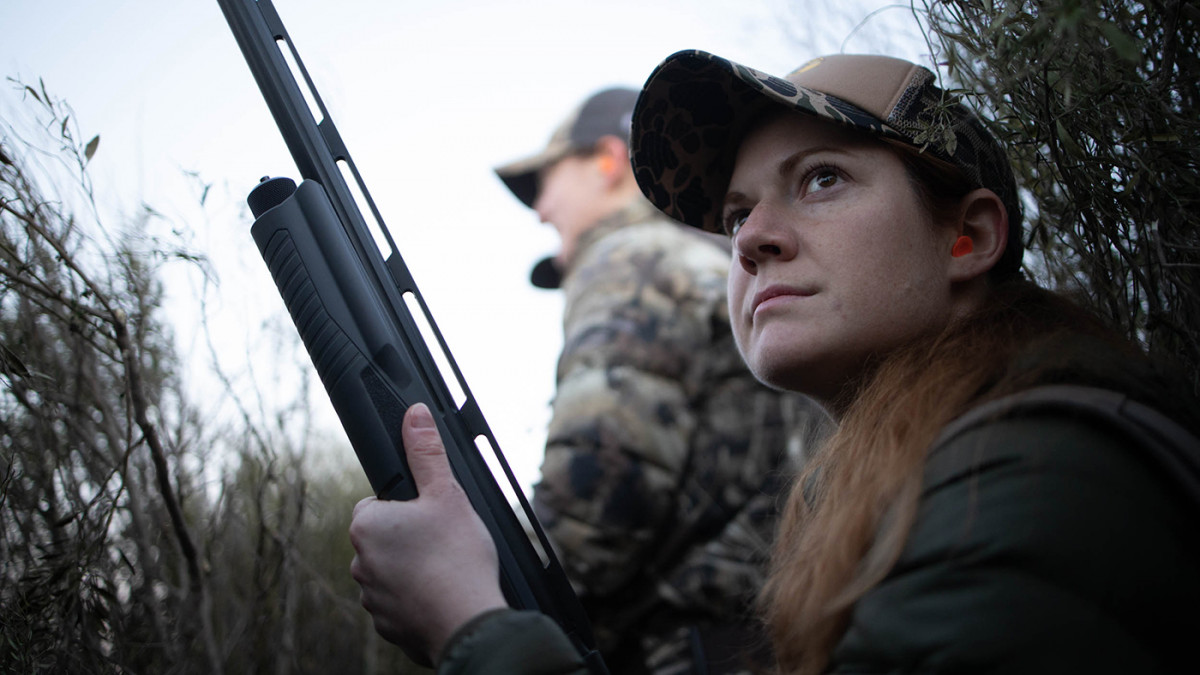 Courtney Nicolson hunts the Migration in Colorado on a piece of land managed for ducks.