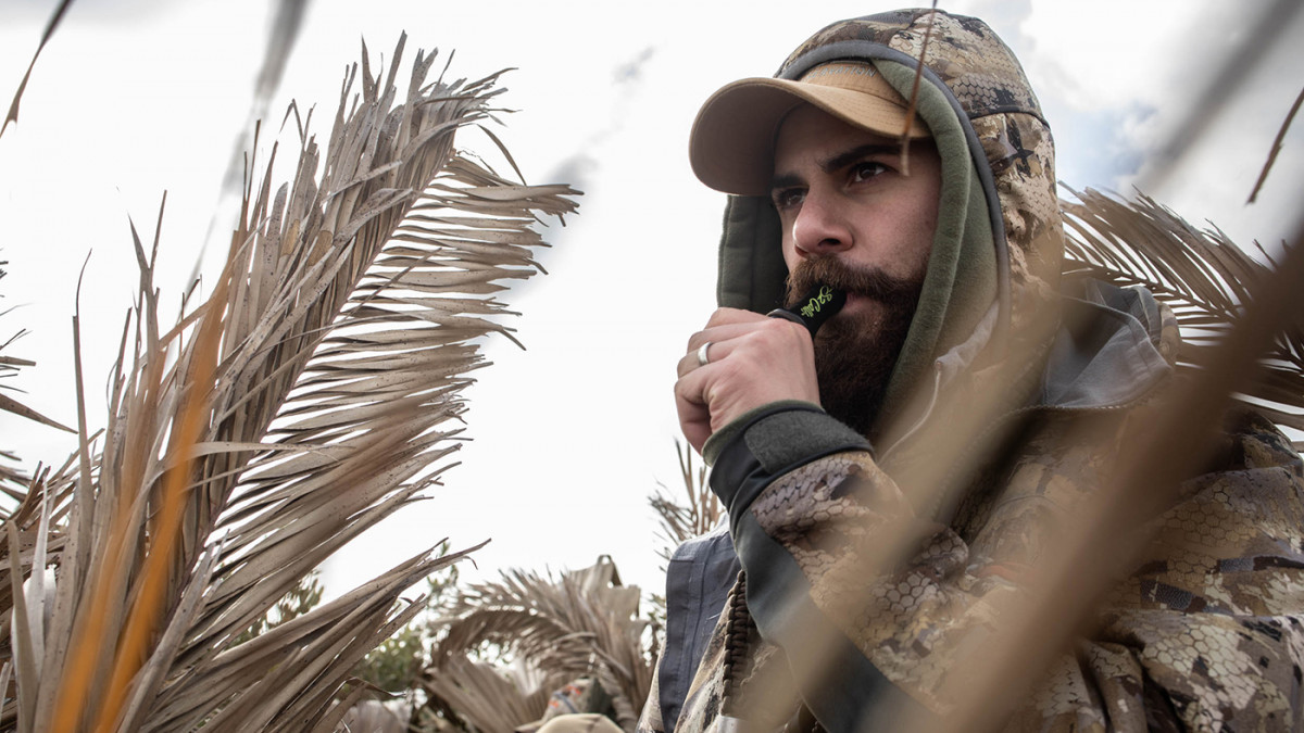 Marcus Gores hunts flood fields in Oregon in a duck club. His family joins him in the blind for food, fun, and fowl weather.