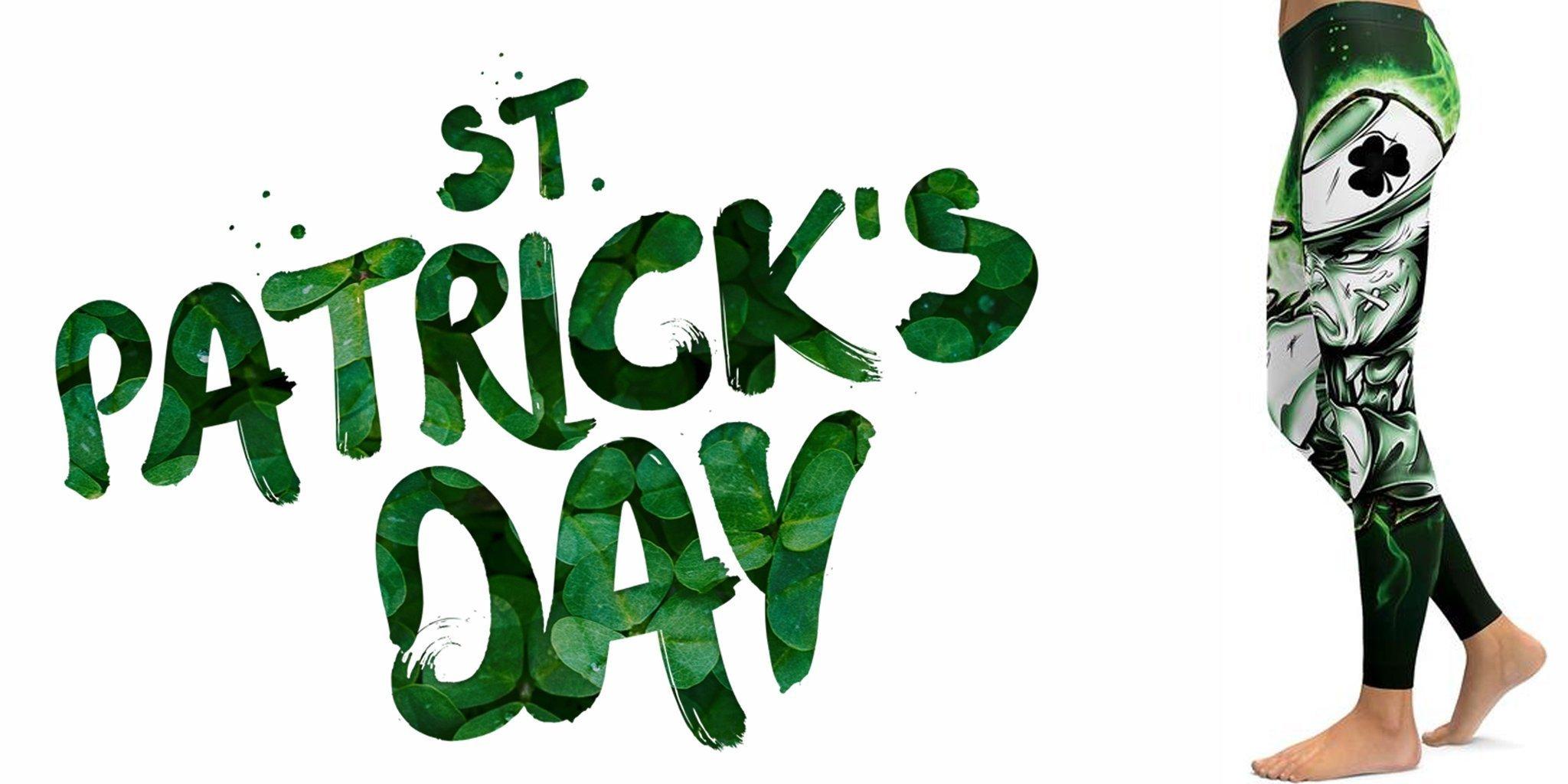 Celebrate Paddy's Day in Style | St. Patrick's Day Leggings