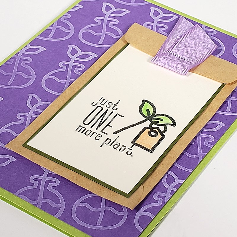 Sprouts card by Club Scrap #clubscrap