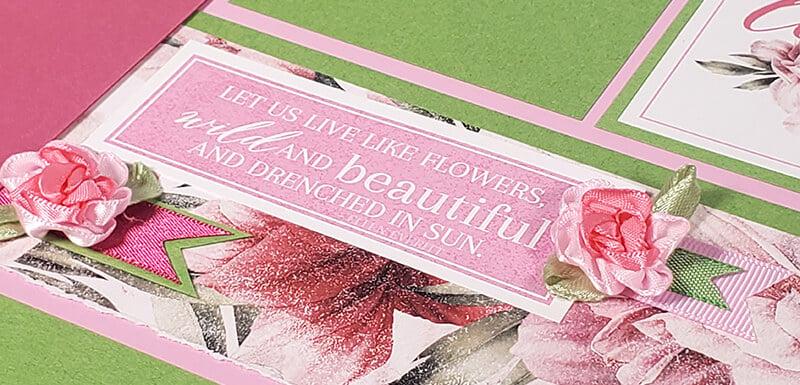 Peony Spoiler - Let's live like flowers.