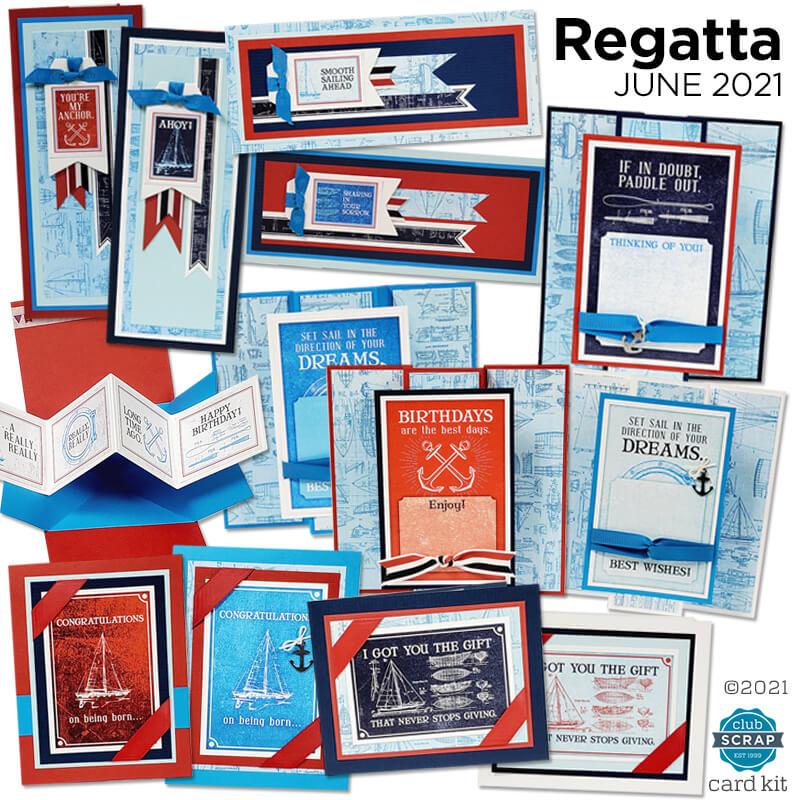 Regatta Card Kit by Club Scrap #clubscrap