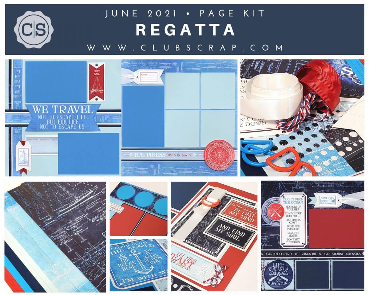 Regatta Page Kit Spoiler by Club Scrap #clubscrap